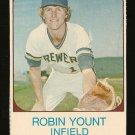 1975 Hostess baseball card #80 Robin Yount - rookie (RC) Milwaukee Brewers