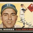 1955 Topps baseball card #187 Gil Hodges NM- Brooklyn Dodgers