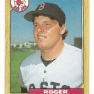 1987 Topps baseball card #340 Roger Clemens NM/M Boston Red Sox