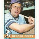 1976 Topps baseball card #19 George Brett VG Kansas City Royals