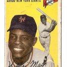 1954 Topps baseball card #90 (B) Willie Mays good New York Giants