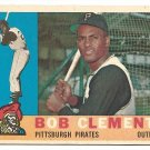 1960 Topps baseball card #326 Roberto Clemente NM- Pittsburgh Pirates