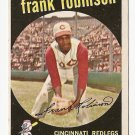 1959 Topps baseball card #435 Frank Robinson EX/NM Cincinnati Reds