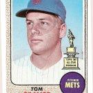 1968 Topps baseball card #45 Tom Seaver VG/EX New York Mets