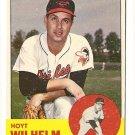 1963 Topps baseball card #108 Hoyt Wilhelm NM Baltimore Orioles