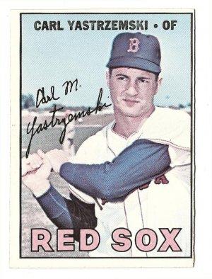 1967 Topps Baseball Card 355 Carl Yastrzemski Yaz Nm