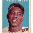 1958 Topps baseball card #5 Willie Mays EX/NM San Francisco Giants