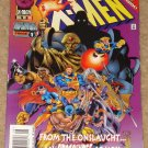 Uncanny X-Men comic book #335 1996 Onslaught