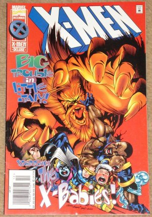 X-Men comic book #47 1995, Marvel comics