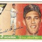 1955 Topps baseball card #66 Ron Jackson poor Chicago White Sox