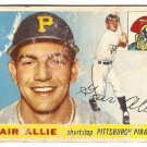 1955 Topps baseball card #59 Gair Allie fair Pittsburgh Pirates