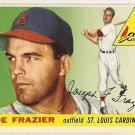 1955 Topps baseball card #89 (B) Joe Frazier EXNM St. Louis Cardinals