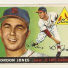 1955 Topps baseball card #78 Gordon Jones VG St. Louis Cardinals