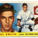 1955 Topps baseball card #8 Hal Smith good Baltimore orioles