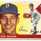 1955 Topps baseball card #40 Don Hoak VG Brooklyn Dodgers