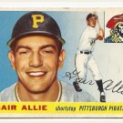 1955 Topps baseball card #59 (C) Gair Allie VG- Pittsburgh Pirates
