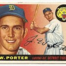 1955 Topps baseball card #49 (B) J.W. Porter VG Detroit Tigers