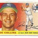 1955 Topps baseball card #63 Joe Collins good New York Yankees