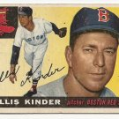 1955 Topps baseball card #115 Ellis Kinder good Boston Red Sox