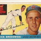 1955 Topps baseball card #171 Dick Brodowski EX Boston Red Sox