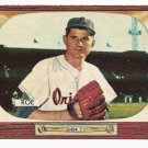 1955 Bowman baseball card #216 Preacher Roe EX/NM