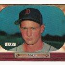 1955 Bowman baseball card #154 Frank Lary EX