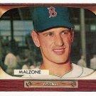 1955 Bowman baseball card #302 (C) Frank Malzone EX-