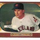 1955 Bowman baseball card #308 (C) Al Lopez EX