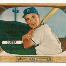 1955 Bowman baseball card #6 (D) Pete Suder NM