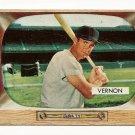 1955 Bowman baseball card #46 (C) Mickey Vernon VG (creased)