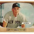 1955 Bowman baseball card #63 (B) Irv Noren EX