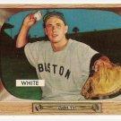 1955 Bowman baseball card #47 Sammy White EX