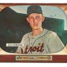 1955 Bowman baseball card #92 George Zuverink VG/EX