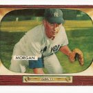 1955 Bowman baseball card #100 (E) Tom Morgan NM