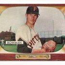 1955 Bowman baseball card #115 (B) Roger Bowman EX