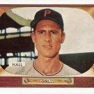 1955 Bowman baseball card #113 (B) Bob Hall EX