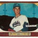 1955 Bowman baseball card #120 (D) Ed Burtschy EX
