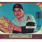 1955 Bowman baseball card #128 Mike Garcia NM