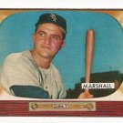 1955 Bowman baseball card #131 (B) Willard Marshall EX