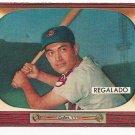 1955 Bowman baseball card #142 (B) Rudy Regalado EX+