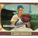 1955 Bowman baseball card #175 (B) Billy Shantz VG/EX