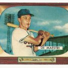 1955 Bowman baseball card #176 (E) Joe De Maestri VG/EX