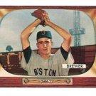 1955 Bowman baseball card #178 Tom Brewer NM