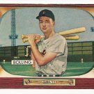 1955 Bowman baseball card #204 Frank Bolling VG/EX