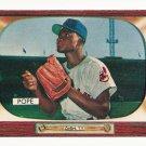 1955 Bowman baseball card #198 Dave Pope EX