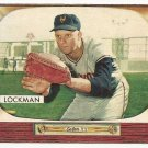1955 Bowman baseball card #219 Whitey Lockman VG/EX