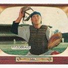 1955 Bowman baseball card #208 Eddy Fitzgerald EX