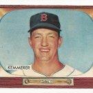 1955 Bowman baseball card #222 (D) Russ Kemmerer EX/NM