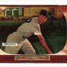 1955 Bowman baseball card #221 (B) Hector Skinny Brown VG/EX