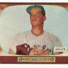1955 Bowman baseball card #245 (B) Bill Miller NM/M